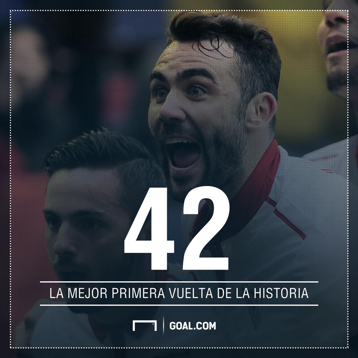 Sevilla acecha liderato del Real Madrid