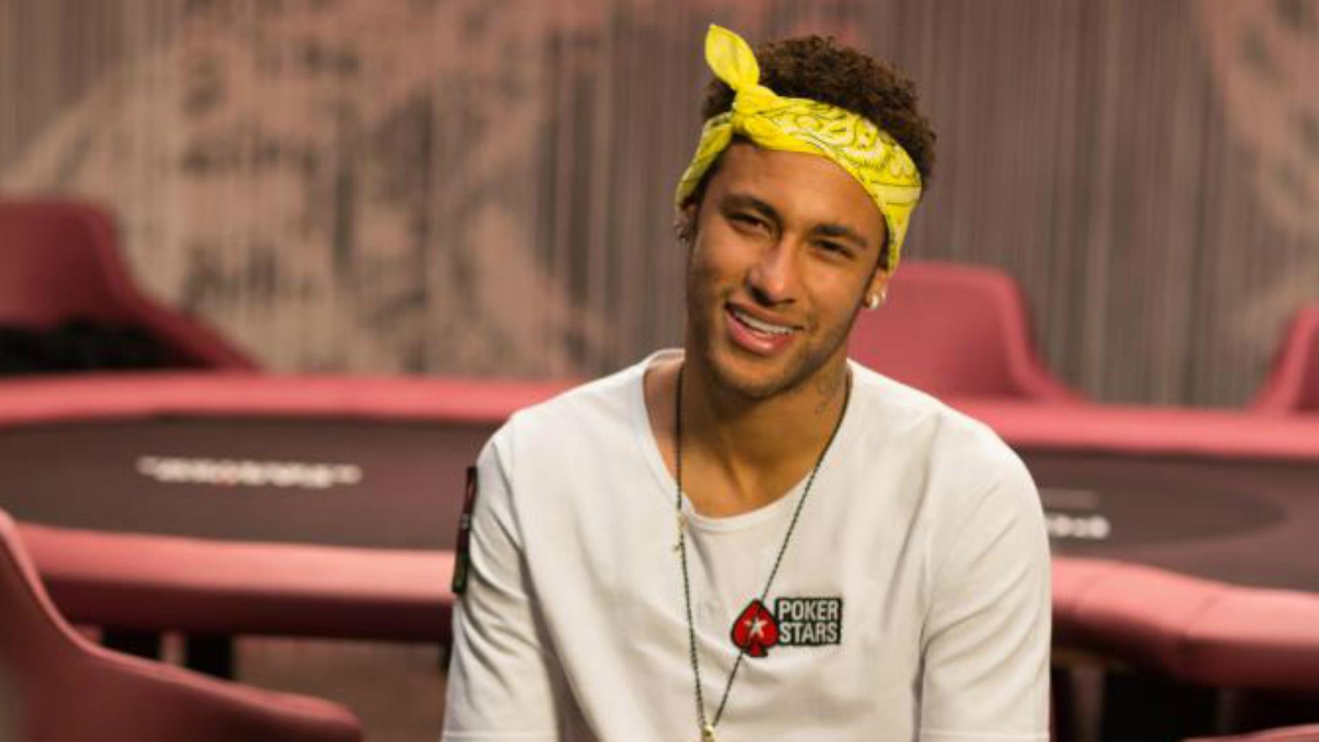 Neymar Barcelona pokerstars