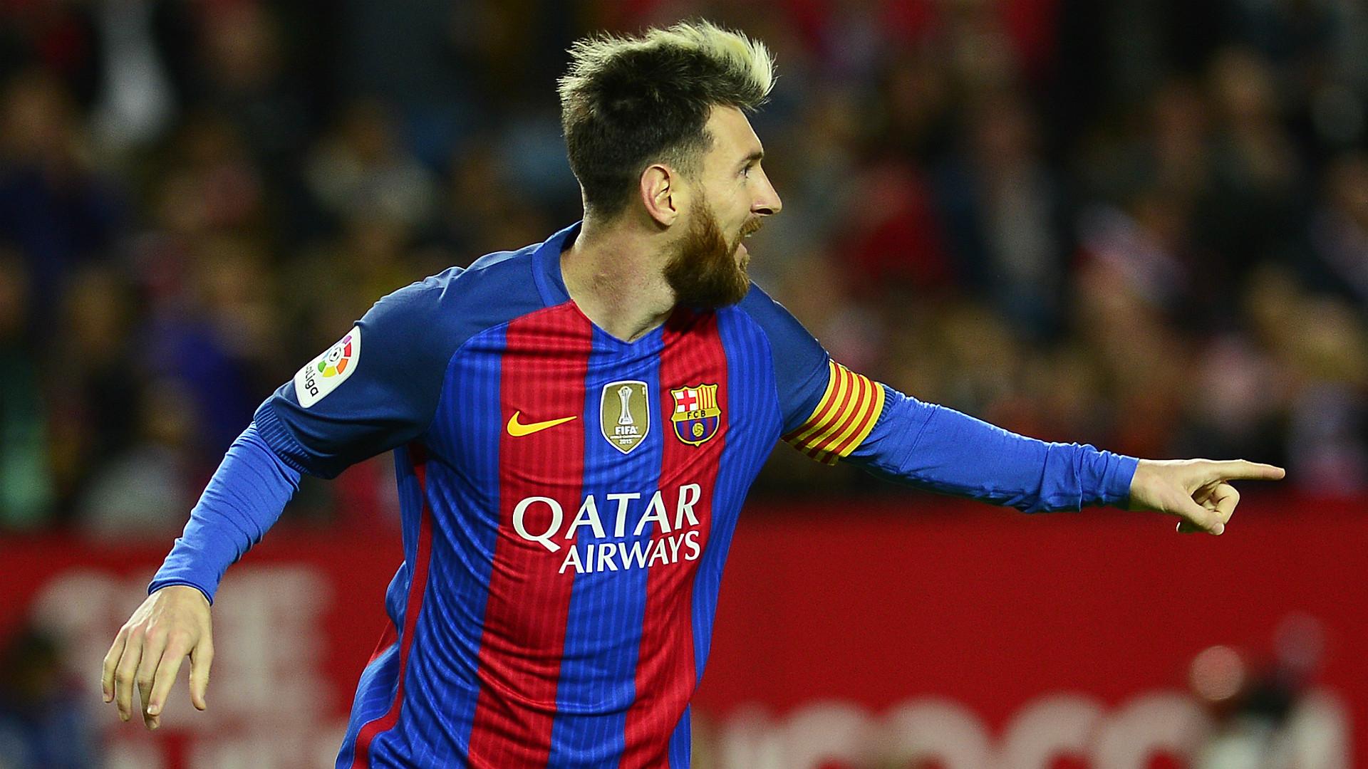 Lionel Messi Grzegorz Krycowiak Barcelona Sevilla 22052016 LaLiga 06112016