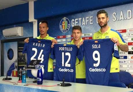 Sola, Portillo y Kadir, presentados