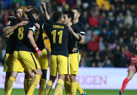 Copa del Rey: Guijuelo 0-6 Atlético