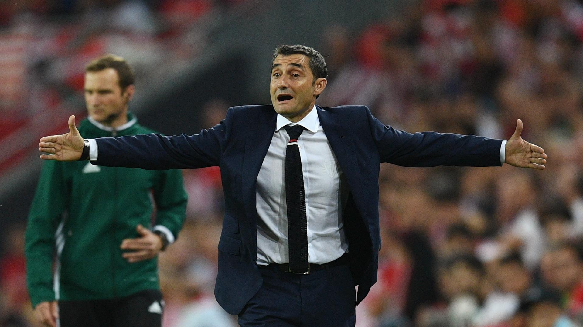 Ernesto Valverde Athletic Bilbao Rapid Wien Europa League