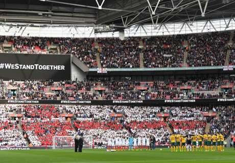 Victoria y homenaje en Wembley