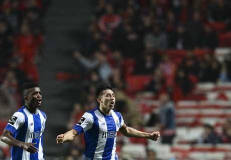 Herrera scores for Porto