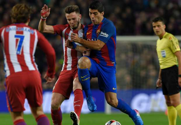 تعادل بشق الأنفس لبرشلونة أمام أتلتيكو مدريد ويتاهل لنهائي كاس الملك