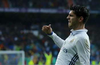 Real Madrid 2-1 Athletic: Morata bundles home to sent hosts top