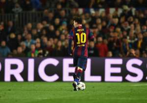1. LIONEL MESSI | Barcelona | 31 chances created