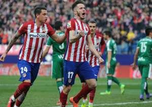 Giménez y Saúl, goles desde el fondo