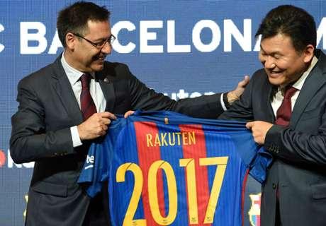 Camisetas del Barcelona 2017-18