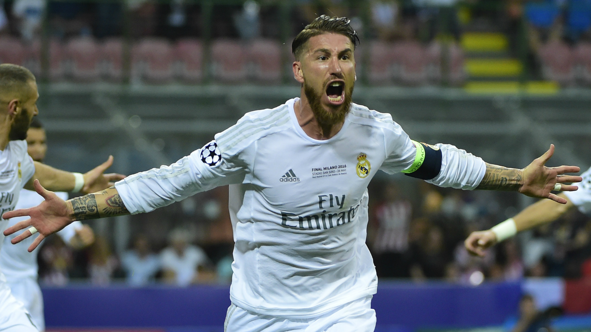 White fits him well Sergio Ramos jabs back at Gerard Pique s
