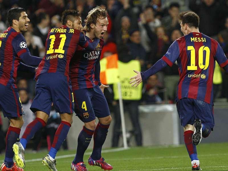 """Rakitic: """"Hasta los jugadores del City disfrutaron con Messi"""""""