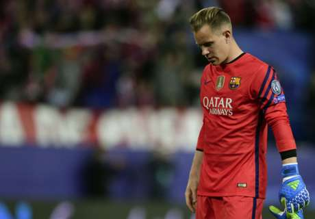 Ter Stegen breaks passing record