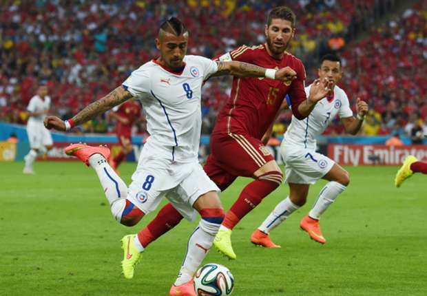 Vidal hit with fresh knee injury on Chile duty