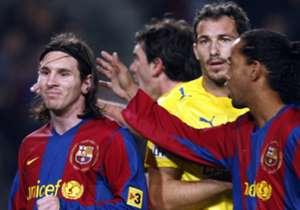 1 - 31 de enero de 2008 | Liga | Barcelona 1-0 Villarreal.
