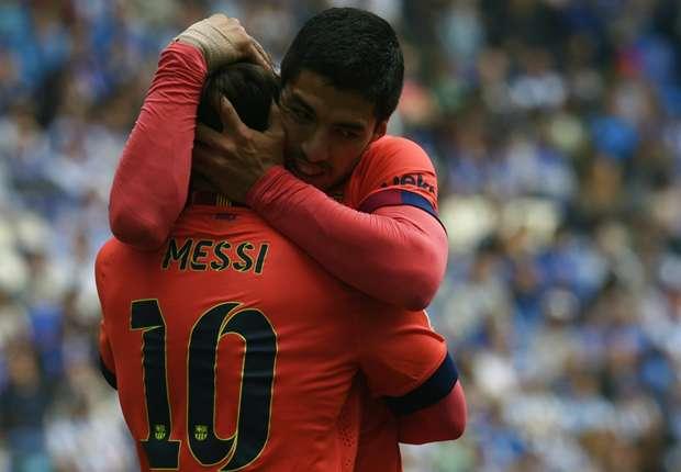 Neymar وLionel Messi يقودان برشلونة