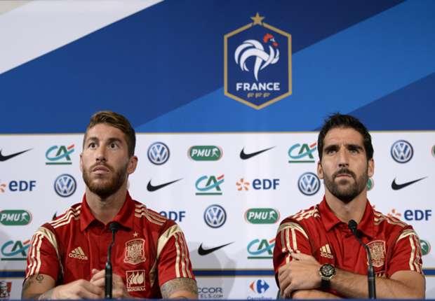 Sergio Ramos & Raul Garcia stellten sich im Vorfeld der Presse