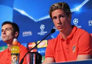 Fernando Torres ist derzeit vom AC Mailand an Atletico Madrid ausgeliehen