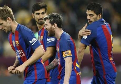 Amistoso: Barça 5 x 3 Al-Ahli