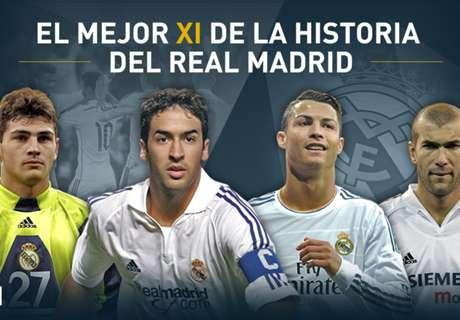 El XI Ideal histórico del Madrid