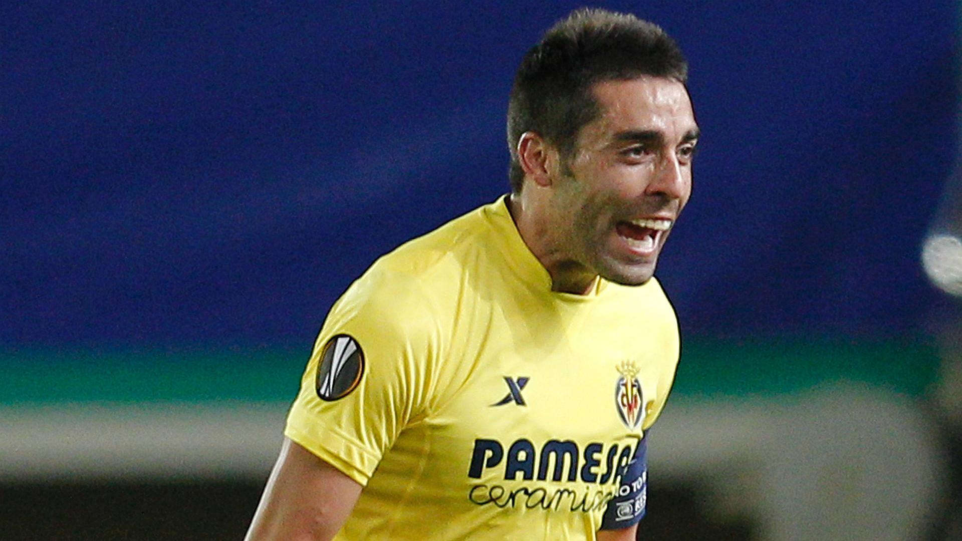 Bruno Christopher Dibon Villarreal Rapid Viena Europa League
