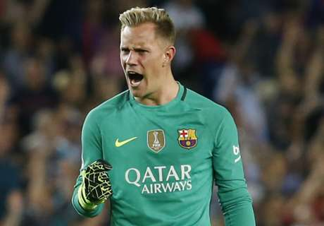 Ter Stegen won't be used in midfield