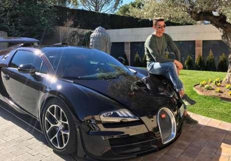 Vídeo: Cristiano y su nuevo Bugatti