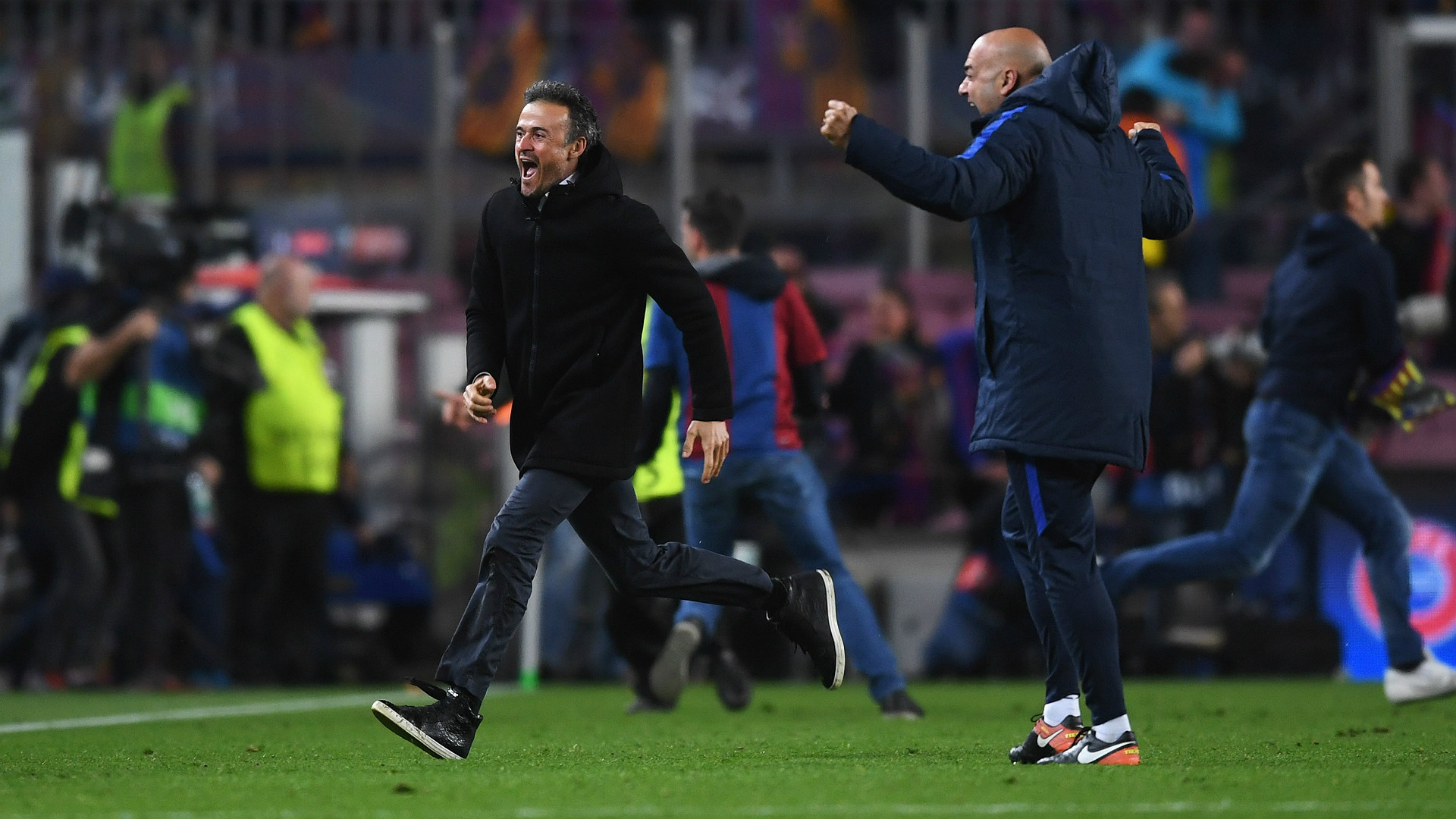 Luis Enrique Barcelona PSG UEFA Champions League 08032016