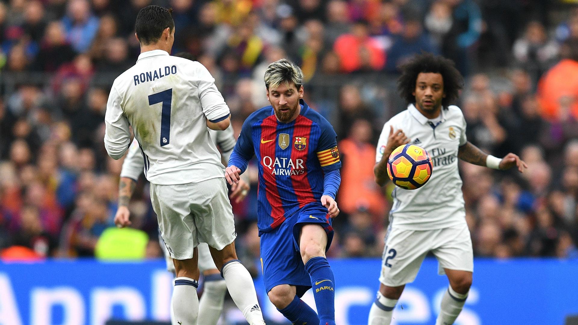 Marcelo Lionel Messi Cristiano Ronaldo Barcelona Real Madrid La Liga