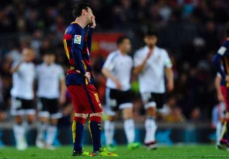 Barcelona sigue en caída libre
