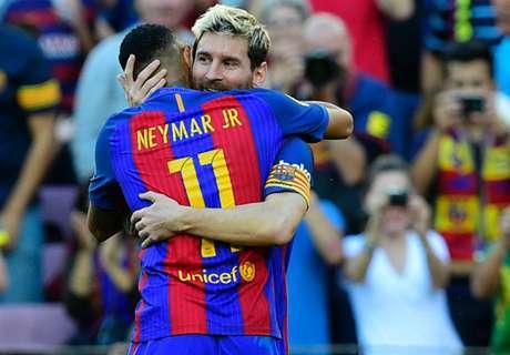 Neymar Ke Barca Karena Messi