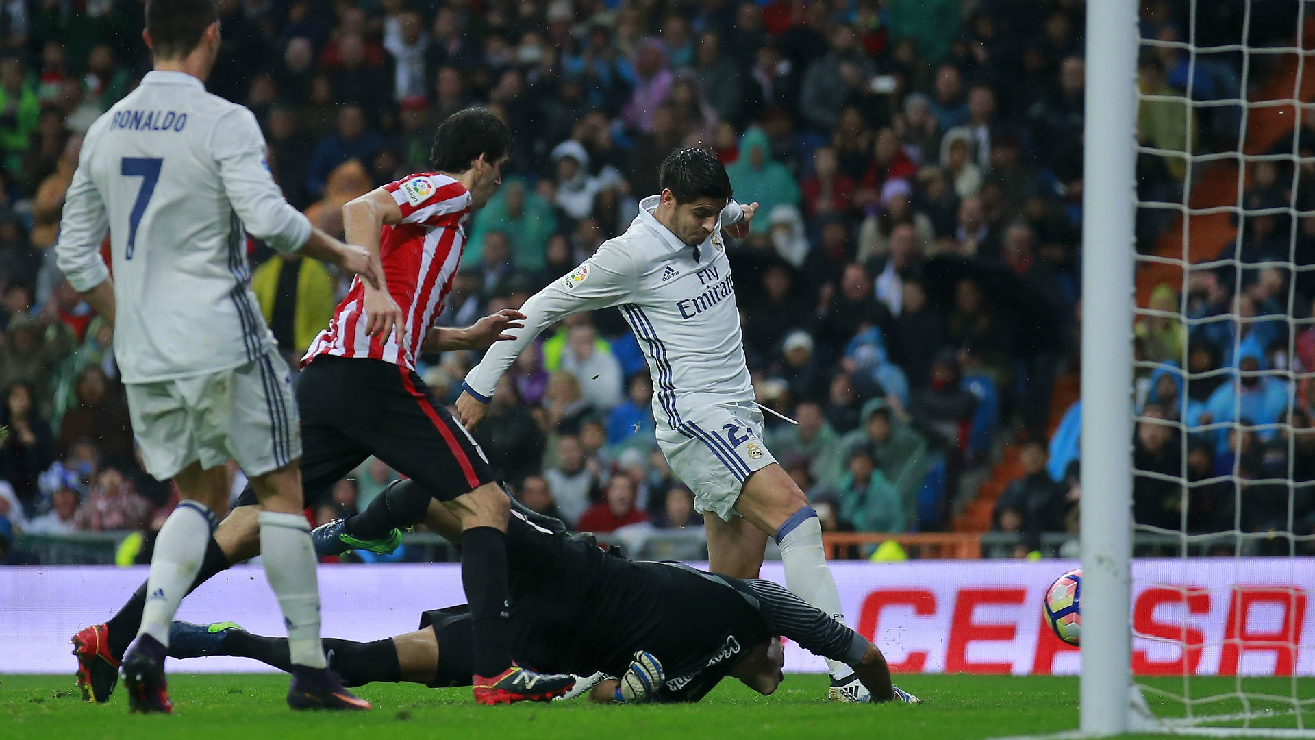 Alvaro Morata Real Madrid Athletic Bilbao La Liga 23102016