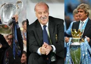 En Goal repasamos la lista de los entrenadores que acabaron tocando la gloria tras ser destituidos de otro equipo unos años antes.