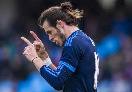Bale tops list of headed goalscorers