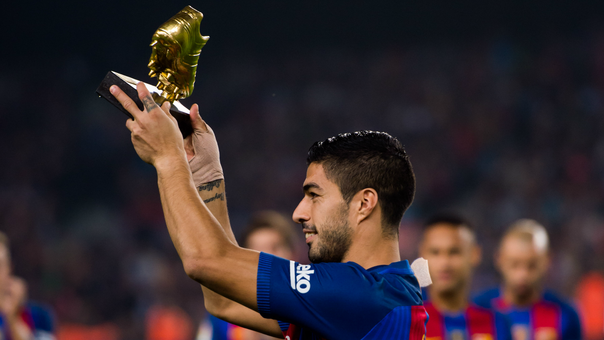 Has Luis Suarez be e more important to Barcelona than Lionel