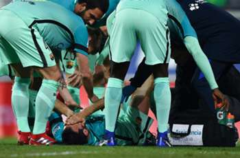 Busquets set for tests and being stretchered off for Barcelona against Eibar