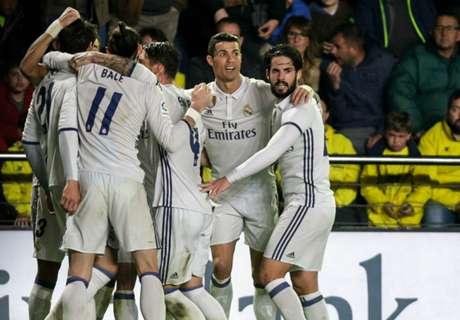 Ennyit futottak a Real Madrid játékosai a bajnokságban