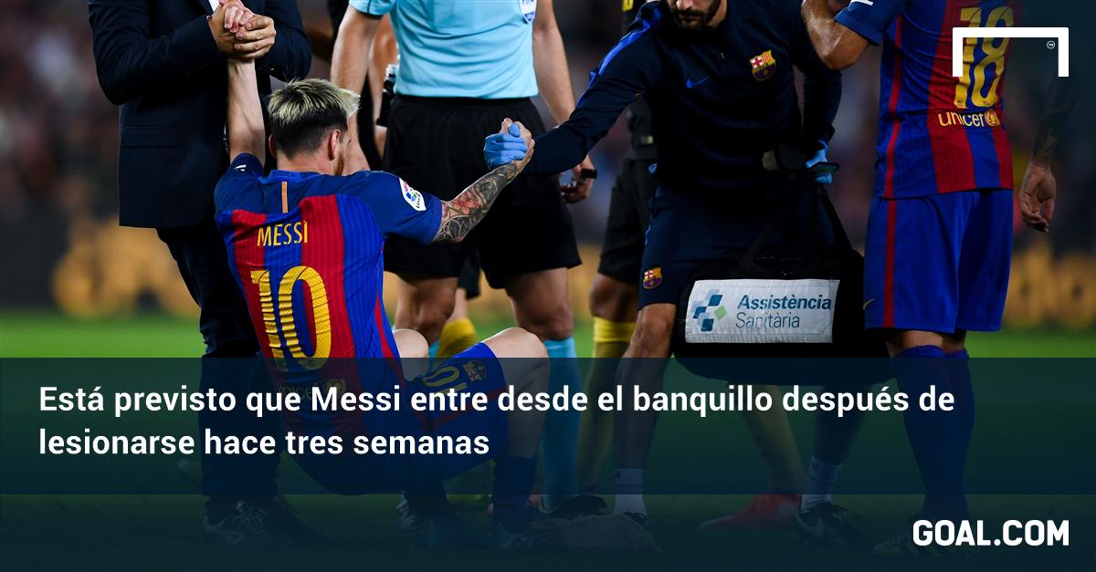 La redonda y Barcelona sonríen, Messi volvió con todo