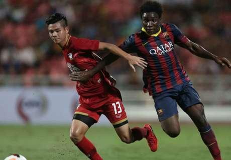 Dongou, despedido del Barça y ficha por el Zaragoza
