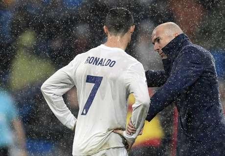 Zidane protege a Cristiano para el Clásico