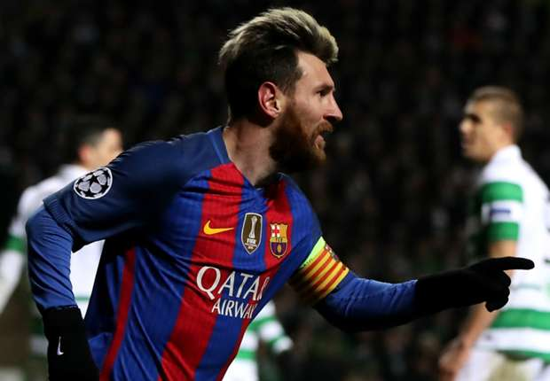 Celtic 0-2 Barcelona: Messi double sends Barca into last 16
