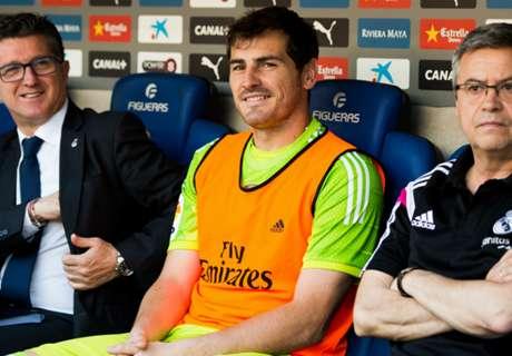 Casillas 'flattered' by Roma talk