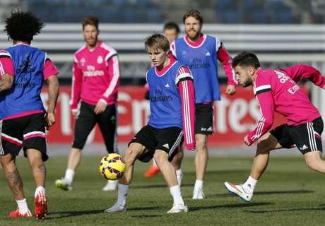 Odegaard impresses in Castilla debut