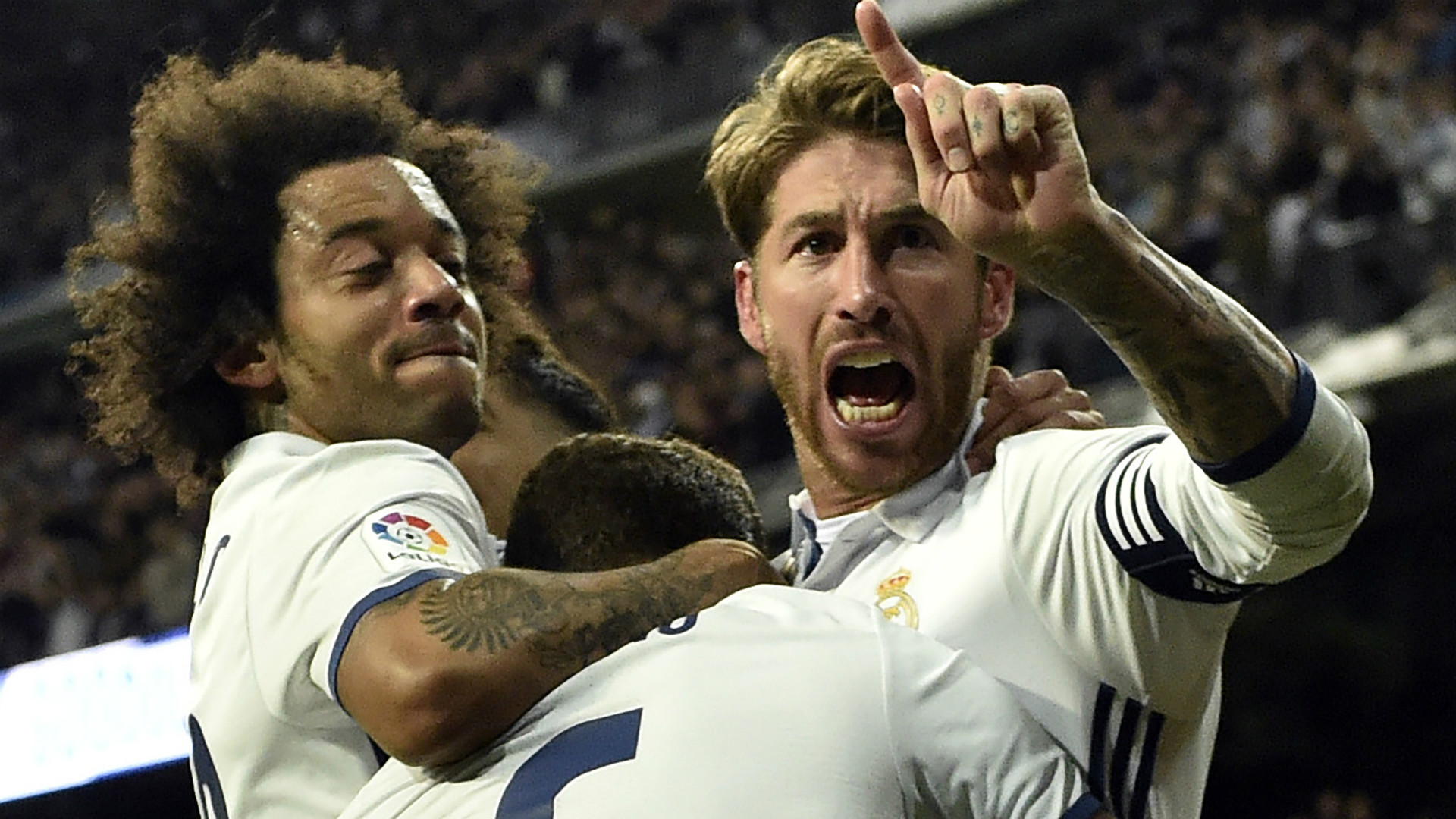 Sergio Ramos Marcelo Real Madrid Betis LaLig