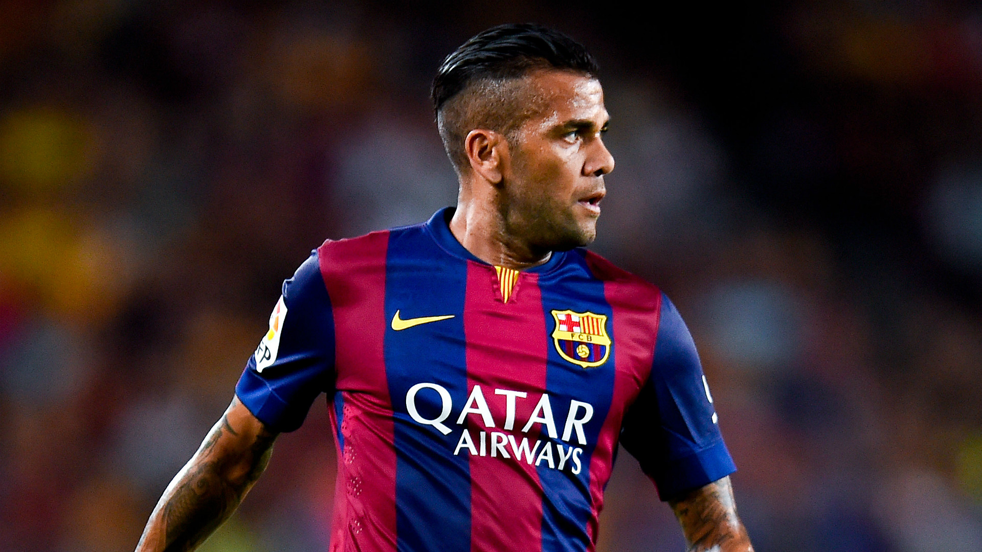 Dani Alves Barcelona La Liga