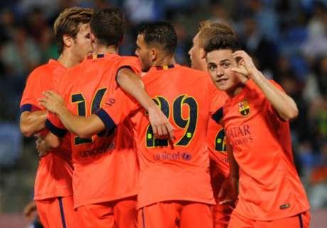Amistoso: Recreativo 0-1 Barcelona