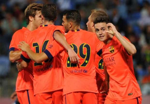 Recreativo 0-1 Barcelona: Un debut esperanzador