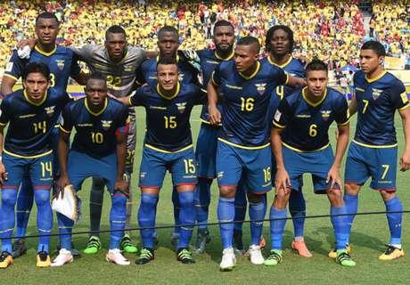 Los 23 convocados de Ecuador