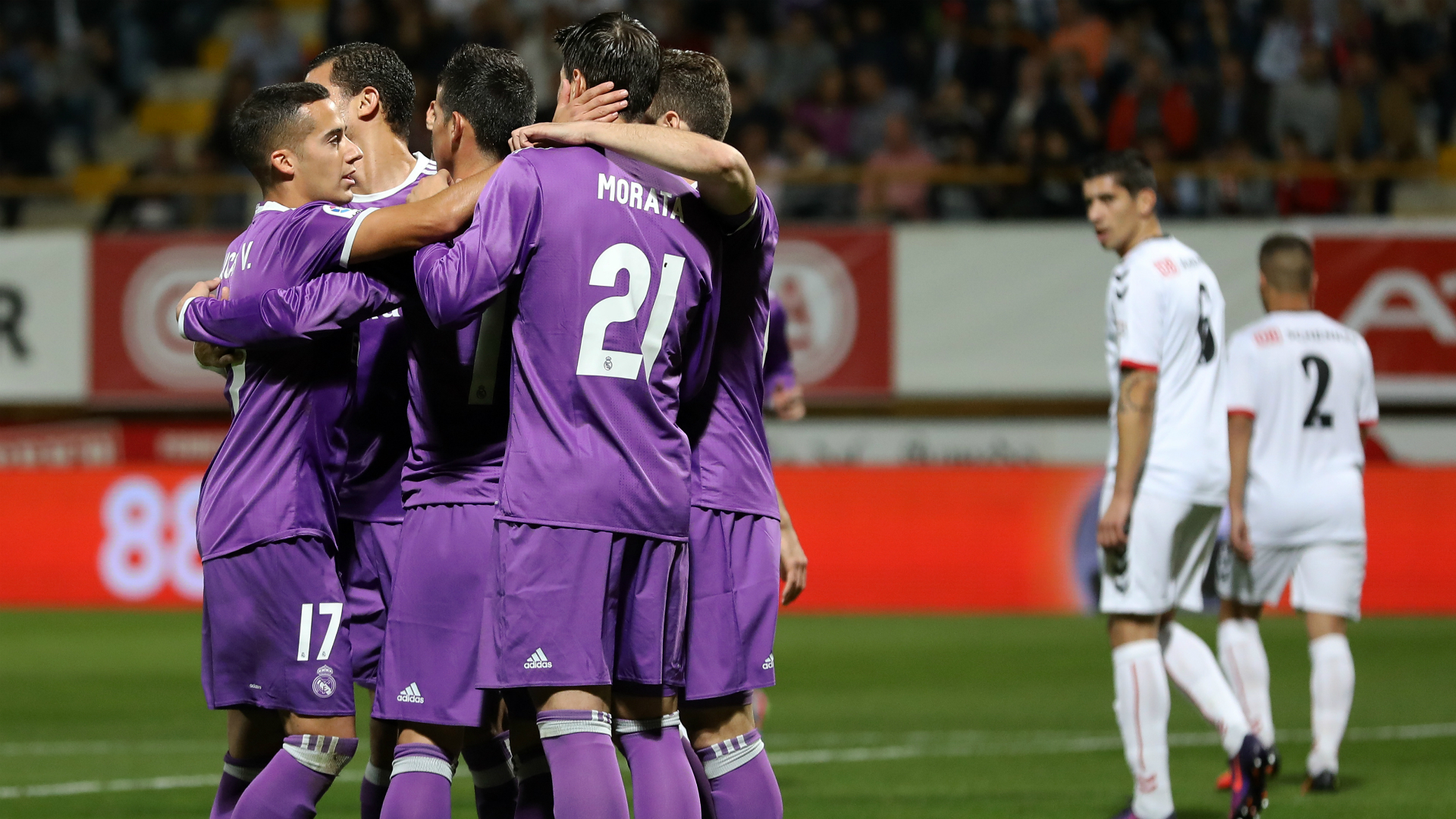 Real Madrid run riot against Cultural Leonesa in Spanish cup