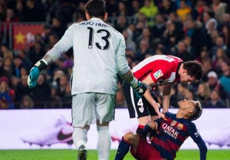 Neymar hits back at Aduriz