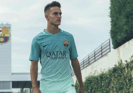 El Barcelona jugará de verde